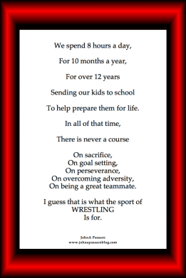 The Sport of Wrestling 12x18 color border Poster.png