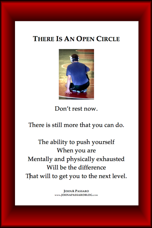 There Is An open circle 12x18 Color Poster .png