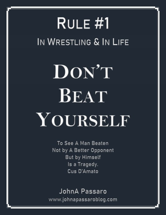 Don't Beat Yourself 11 x 14 Poster_1