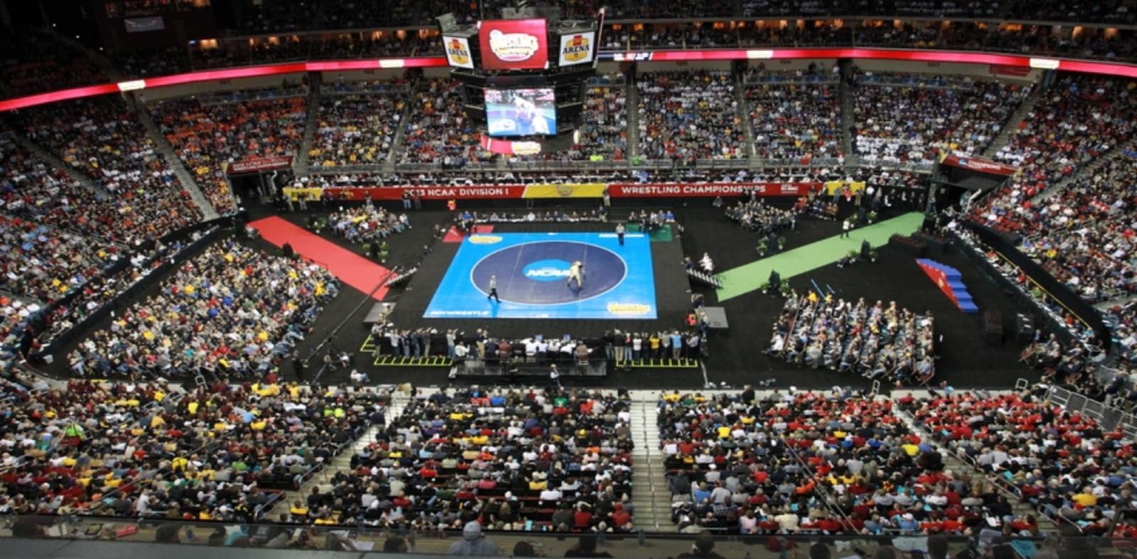NCAA D1 Wrestling setup