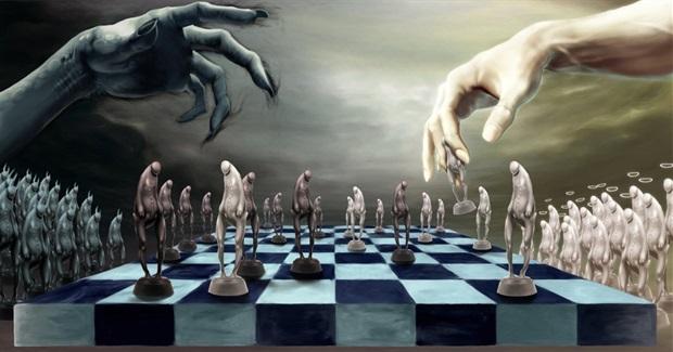 Chess good vs evil